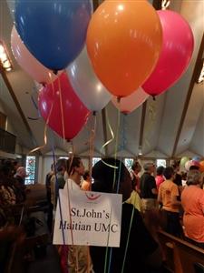 St. John's Haitian UMC Celebrate Jesus event